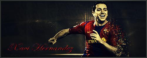 Xavi Hernandez 2 by ForcaBarca