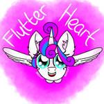Princess Flutter Heart