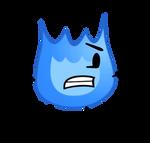 Blue Firey Vector #8