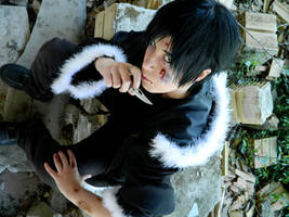 Izaya Orihara cosplay by Smexy-Boy