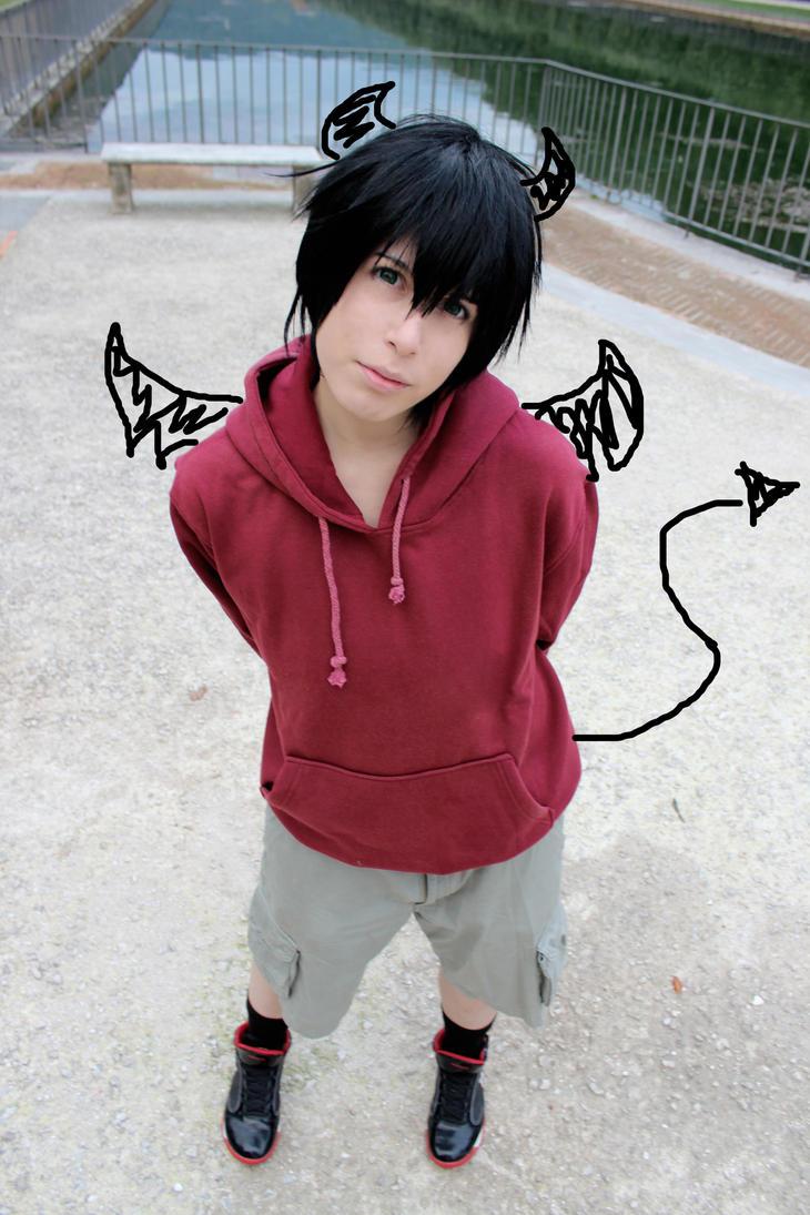 Nabari No Ou: That Little Devil by Smexy-Boy on DeviantArt Nabari No Ou Raimei Cosplay