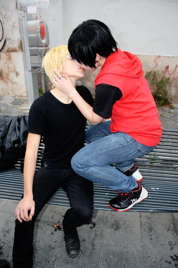 Shizaya: Catch the kiss by Smexy-Boy