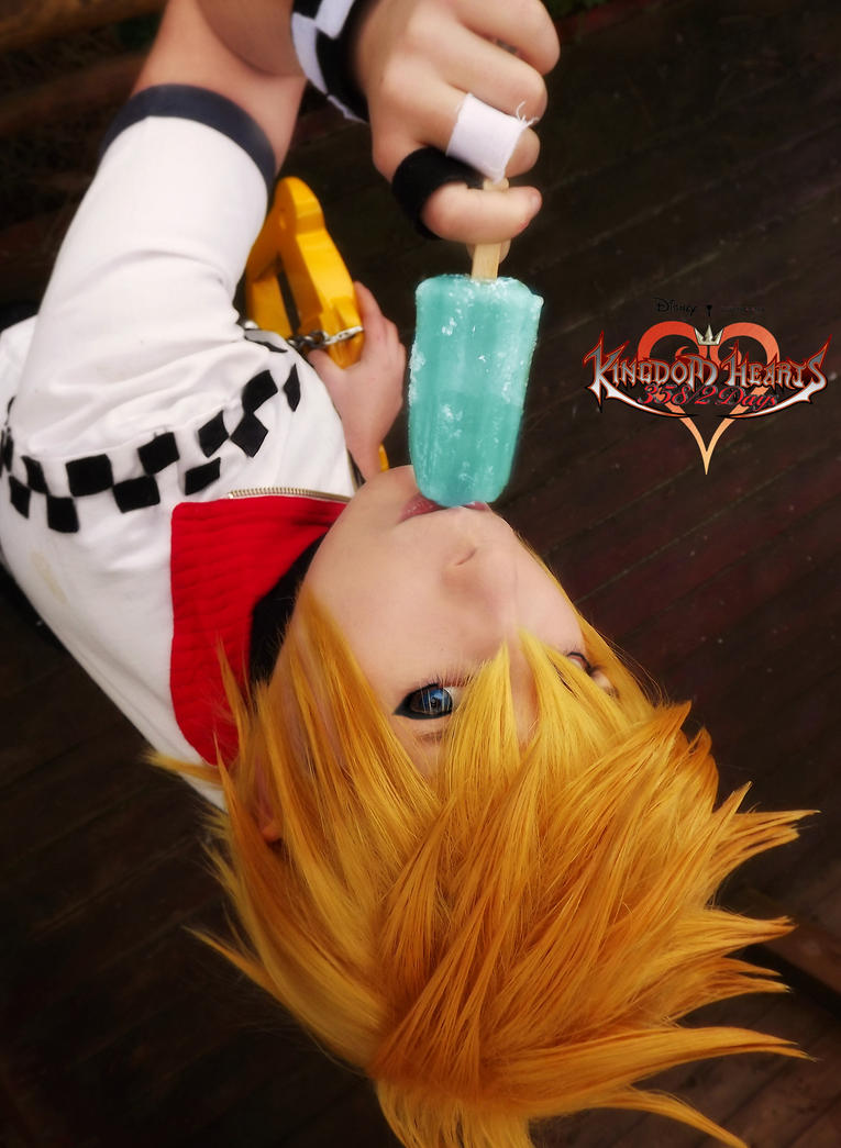 Roxas: It's salty but sweet too by Smexy-Boy