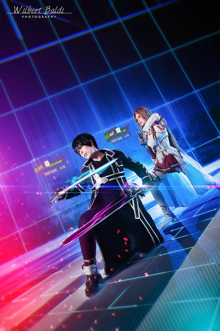 SAO: Kirito and Asuna by Smexy-Boy