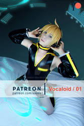 Vocaloid Lenkagamine by Smexy-Boy
