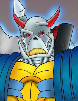 Death's Head - Blue Variant
