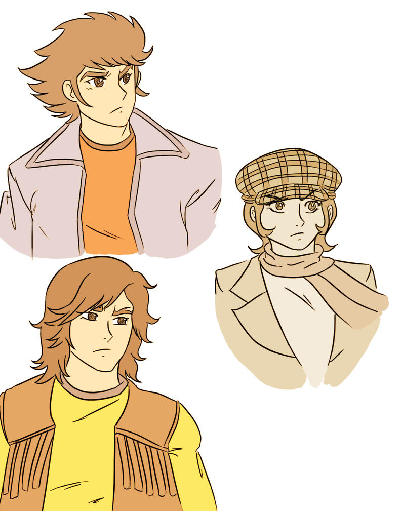 Colored sketches by eloyoya92