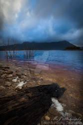 Lake bunbury tasmania west coast