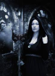 Gothic moon by UlyssesFae