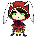 OC: Kei Pixel doll by aquacatz