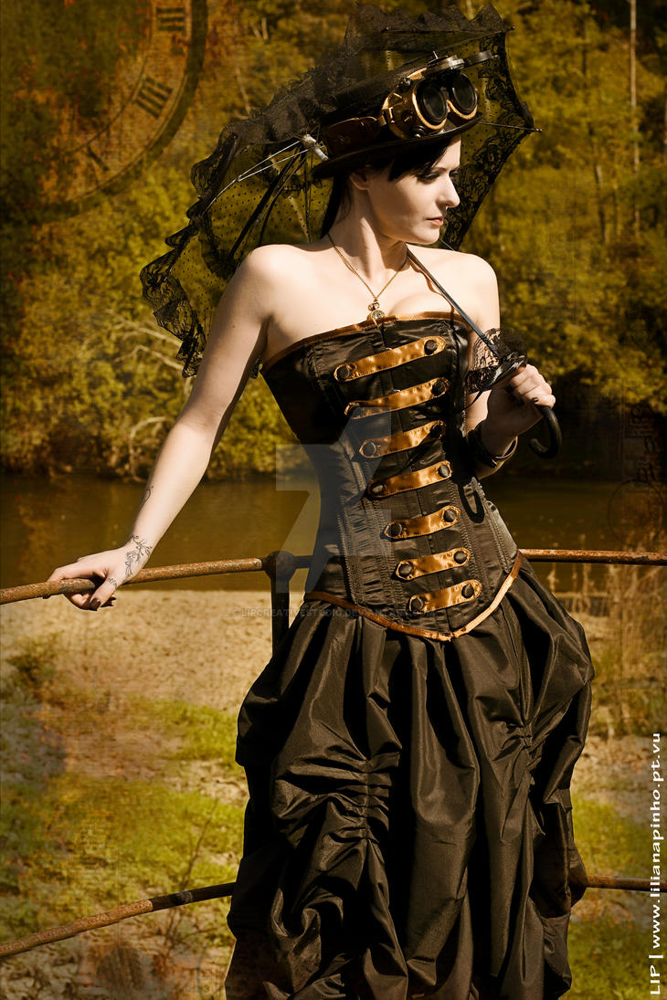 Second life steampunk fashion Top