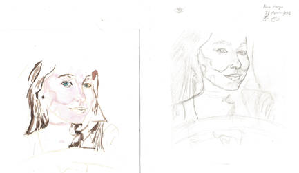 Anna Marya Sketch Stage #2 + Painting Stage #1