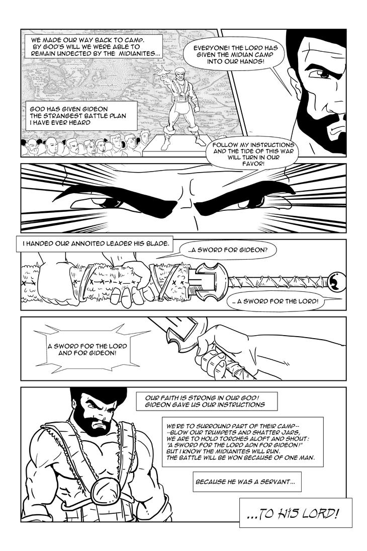 A Sword for Lord and for Gideon-page 4 by officerM
