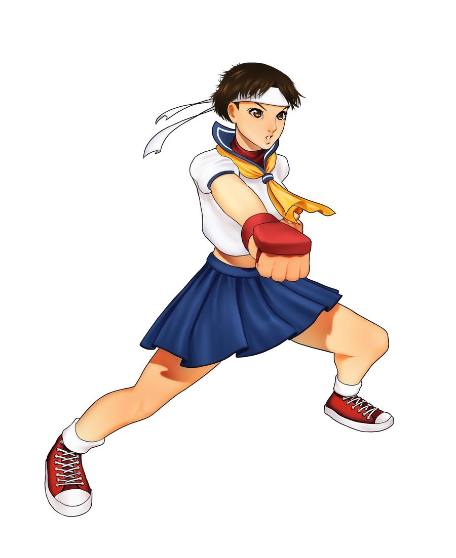 春日野さくら,Sakura Kasugano,春日野樱,Street Fighter,街头霸王,ストリートファイター,街霸,CAPCOM