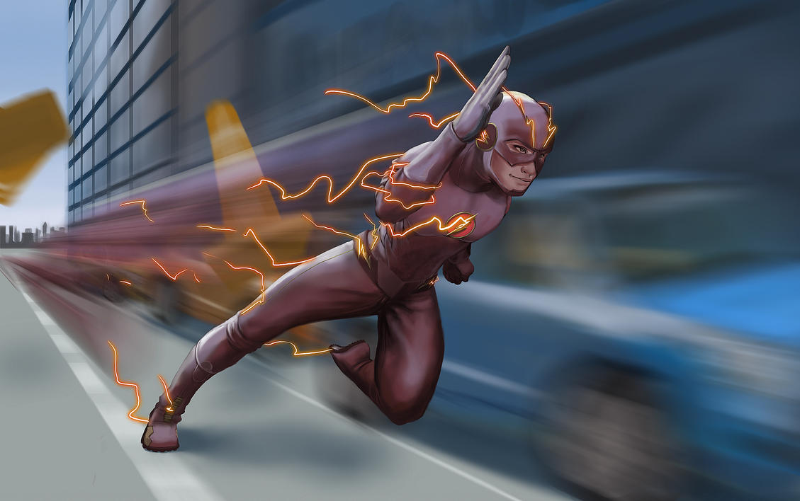 The Flash by Bariarti