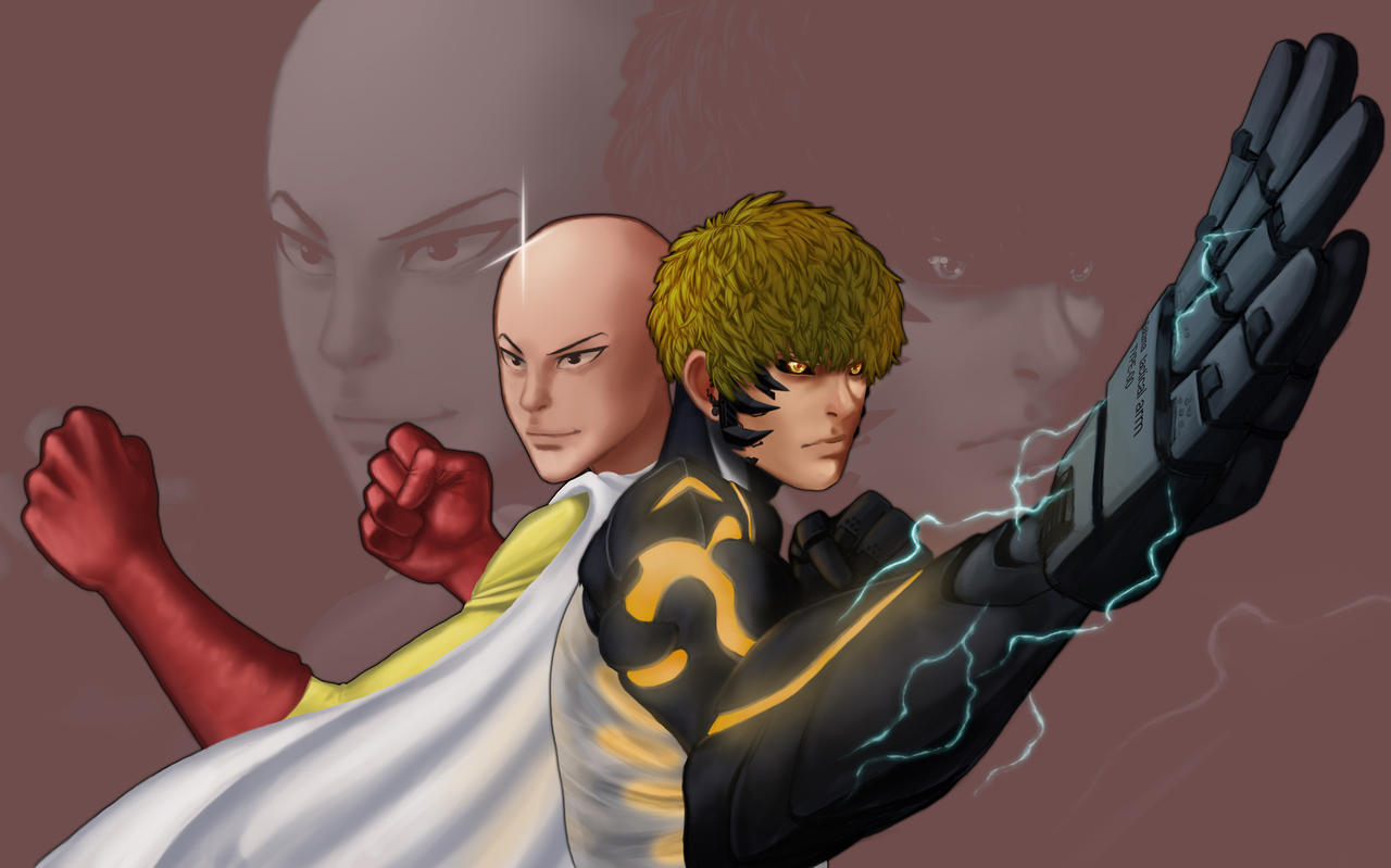 OnePunchMan by Bariarti