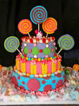 Kenzies Candy Cake
