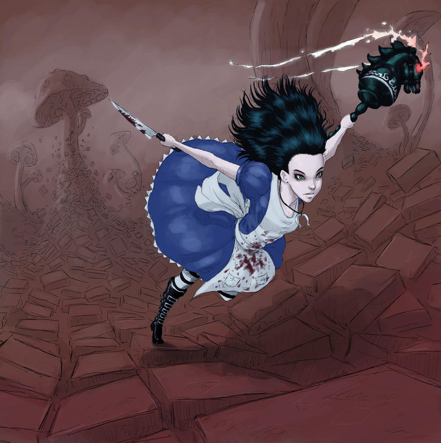 Alice: The Madness returns by BlackTar-in-a-Jar
