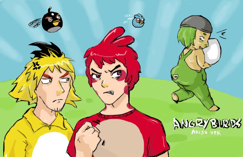 angry birds in anime by nemushiffer on deviantart