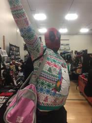 Merry Christmas from Deadpool by gentleEvan