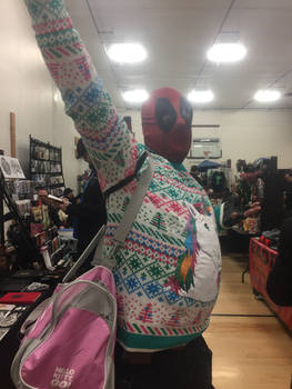 Merry Christmas from Deadpool