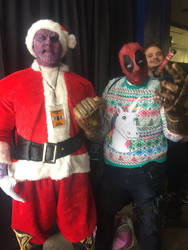 Thanos Clause is coming to kill half of you by gentleEvan
