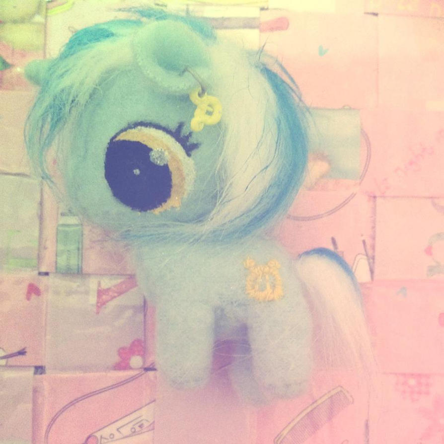 Lyra Heartstrings baby my little pony plush by KawaiiPetitPois