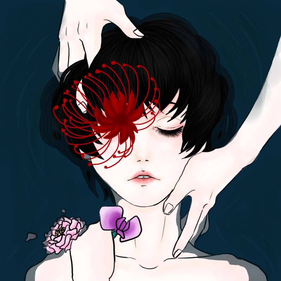 Drown - closed eye ver. by RabbitVal
