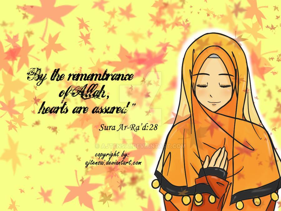 Remember Allah by ajtensai