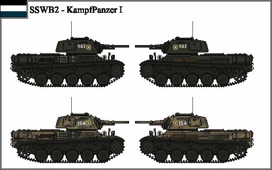 ANS - Kh - KaPz I Medium Tank