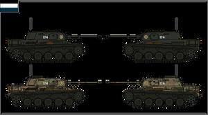 ANS - Kh - JaKaPz I Light Tank Destroyer by Liquid-Nitrogen