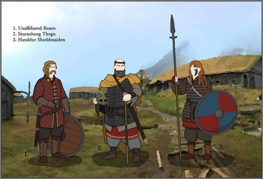 A World of Warriors - Sjosuntr Kinsmen