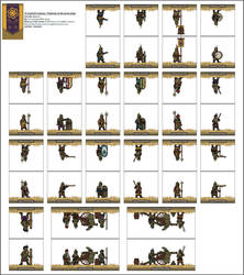 Querdije Dwarves-At-Arms set