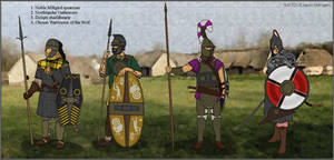 A World of Warriors - Early Men