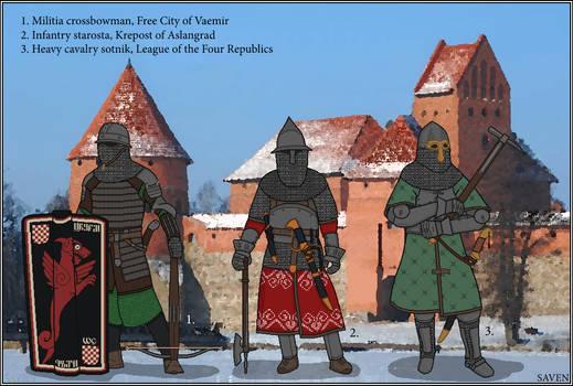 A World of Warriors - Osvorid armsmen