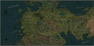 A World of Wonders - Map of Mittelhelm