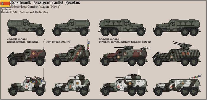 EDMN - Armored car