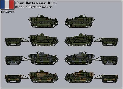 HISTORICAL - Chenillette Renault UE