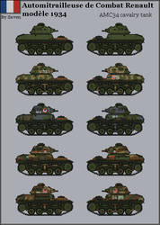 HISTORICAL - AMC 34 light tank