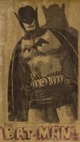 batman vintage by laseraw