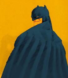batman back by laseraw