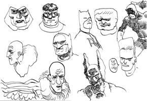 sketches hero random by laseraw