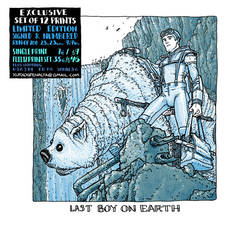 last boy on earth print by laseraw