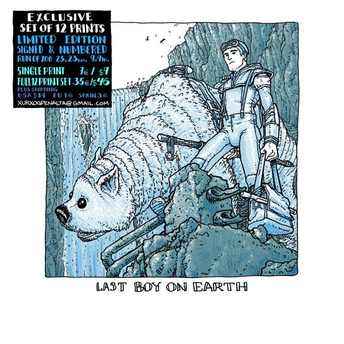 last boy on earth print