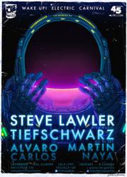 STEVE LAWLER poster