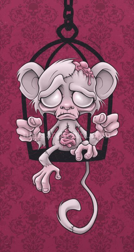Poor Little Monkey by aleksandracupcake