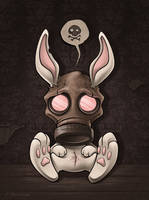 Toxic Bunny by aleksandracupcake