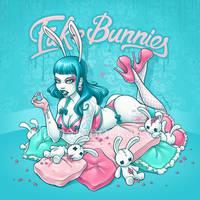 Fake Bunnies by aleksandracupcake