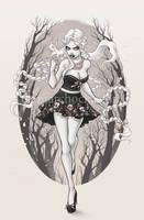 Slavic Girl by aleksandracupcake