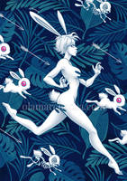 Chase the Bunny by aleksandracupcake